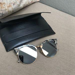 5ce2947b12e7 Gentle Monster moon cut 55mm sunglasses ...
